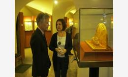 Музей посетил генеральный консул США в Санкт-Пет...