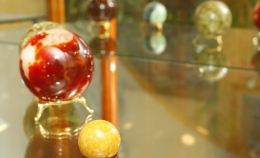 Открытие выставки минералов