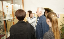 Opening of the exhibition byVyacheslavMishin