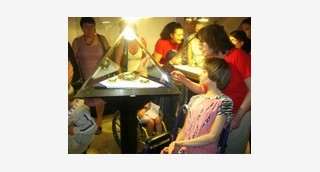 The Amber Museum gave children with disabilities...