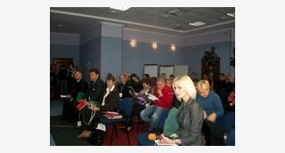 Конференция по янтарю в г. Ровно, Украина