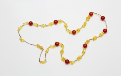 """Gulaia S.A. Necklace """"Several notes of love"""""""