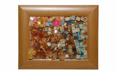 "Sarsenbaeva D.N. Mosaic picture ""Memories of the childhood"""