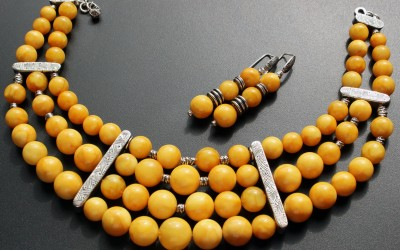 "Jewellery set ""Adornments for Nefertiti"". 2019 