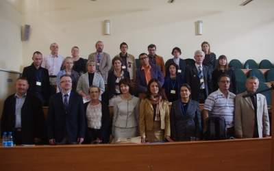 """Participants oftheconference """"Problems ofrestoration andconservation ofamber"""""""