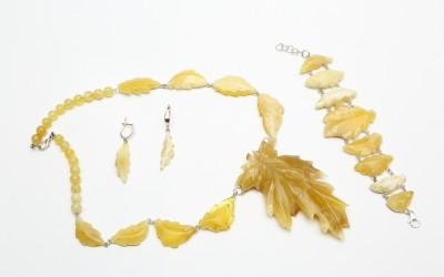 "Romanenko L.N. Jewellery set ""Summer 2"""