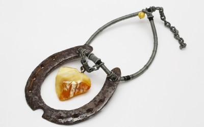 """Ianson S.Iu. Necklace """"Horseshoe"""""""