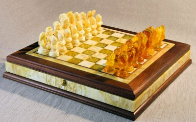 "Chess set ""Caissa"". 2012 