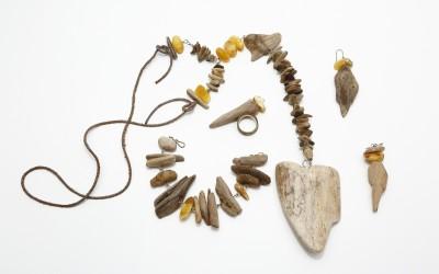 "Lopatkina Zh.A. Jewellery set ""Sea tree"""