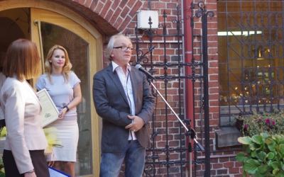 Welcoming speech ofthejury charman BorisMironov