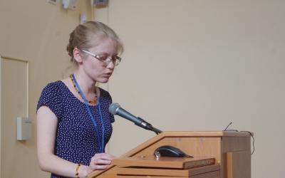 Speech of NataliaKokorina, head ofArcheological Department oftheVladimir-Suzdal Museum-Reserve