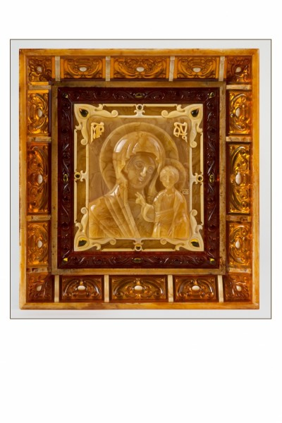 "Icon ""Holy Mother of Kazan"". 2017 