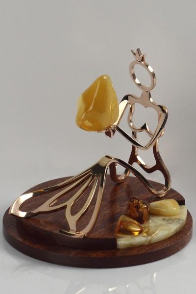 «Юрате». Приз за мастерство от Калининградской гильдии мастеров янтарных дел