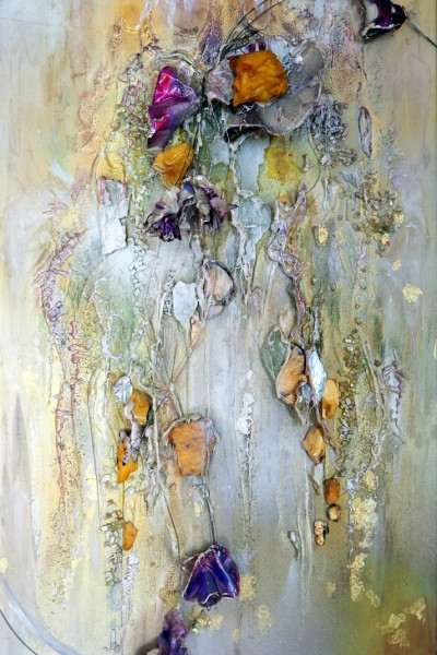 "Decorative panel ""Bride's Banch of Flowers"". 2016 