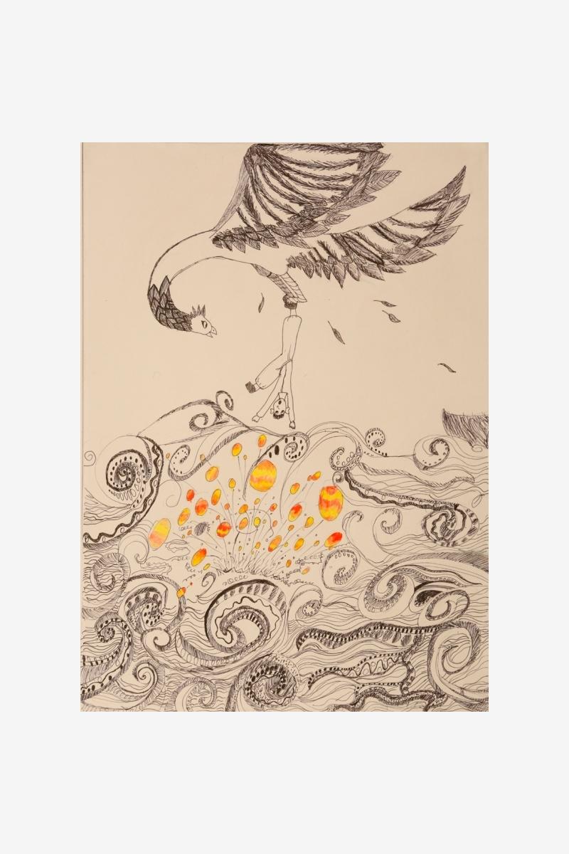 "Maslova Ekaterina ""The Legend of the Gauia Bird"""