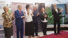 Церемония награждения лауреатов конкурса биеннал...