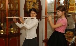 Выступление юных музыкантов