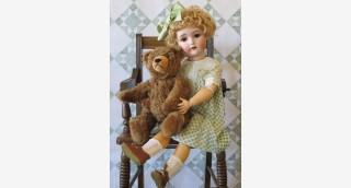 «Очарование старинной куклы»