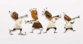 Выставка ювелиров Латвии «Что у янтаря на уме?»