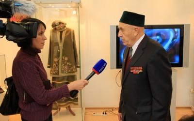 Интервью дает основатель мусульманской организации в Калининграде Хаким Исмаилович Бектеев