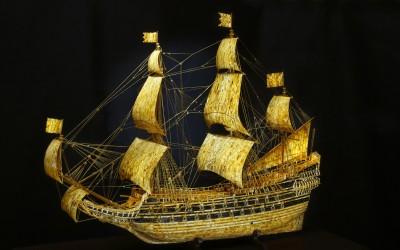 Старовойтов С.И., Россия Модель шведского военного корабля «VASA», 2007