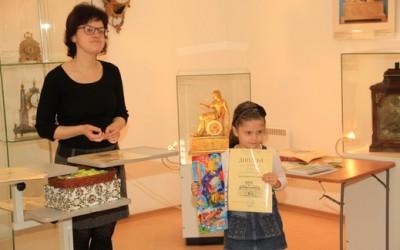 Соня Белобородова, обладательница диплома за 3 место в номинации «Графическая работа»