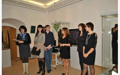 Церемония открытия выставки «Цветы и Стразы»