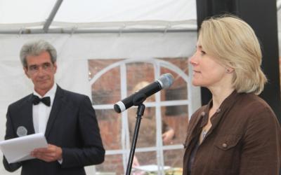 Руководитель Канцелярии посольства     Латвийской Республики в Калининграде     Солвита Мартинсоне
