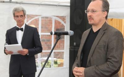 У микрофона Дмитрий Александрович Чемакин,     министр по промышленной политике,     развитию предпринимательства и торговли     Правительства Калининградской области