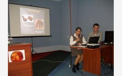 Выступление с докладом Зои Костяшовой