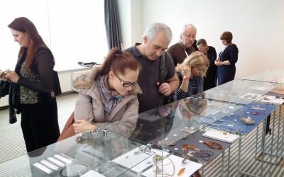Экспозиция конкурсных работ «Мой дом» XIII международной выставки ювелирных изделий «Amber Trip»
