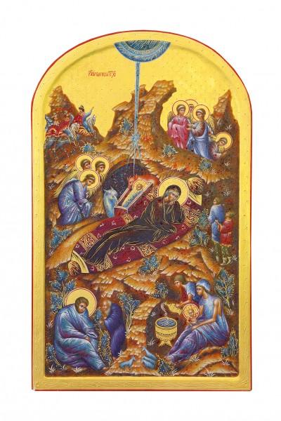 Бабакова О.А. «Икона Рождества Христова»