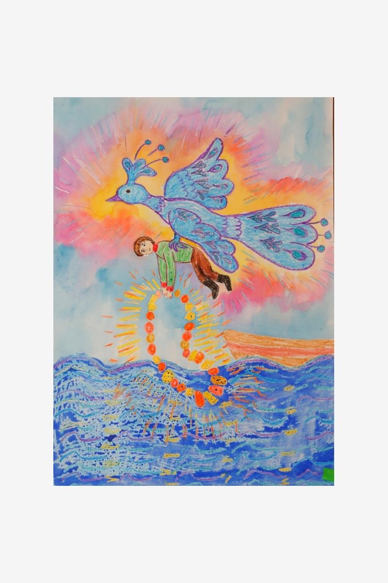 Ашуркина Алиса «Сказ о птице Гауе»