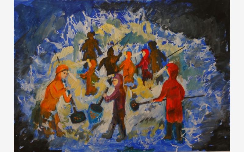 Рудова Дарья «Стихийная добыча янтаря»