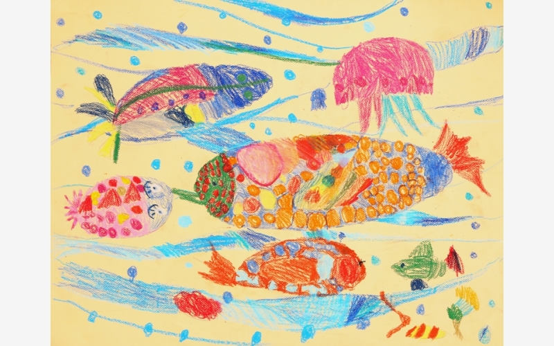 Беспалова Рита «Янтарные рыбки»