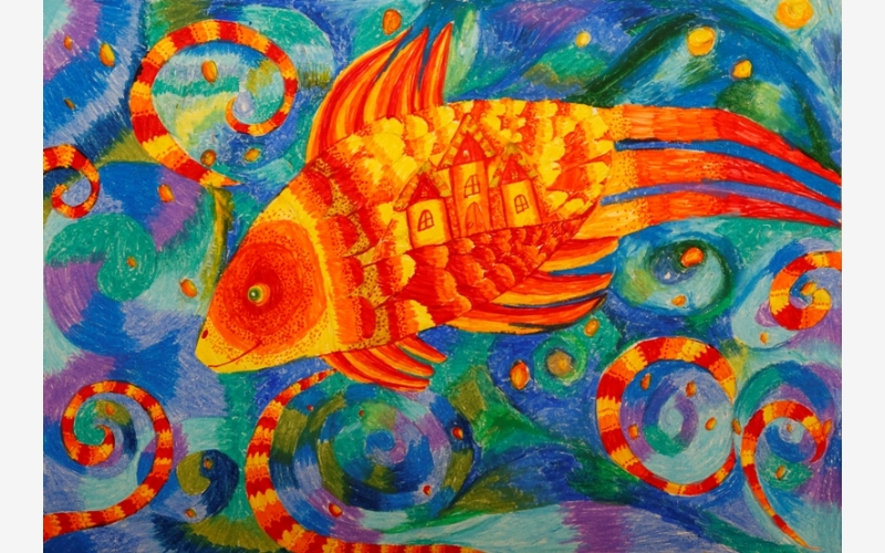 Боровик Варвара «Янтарная рыбка»